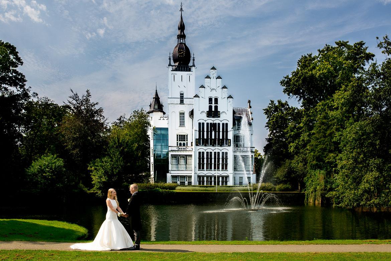 trouwen kasteel maurick