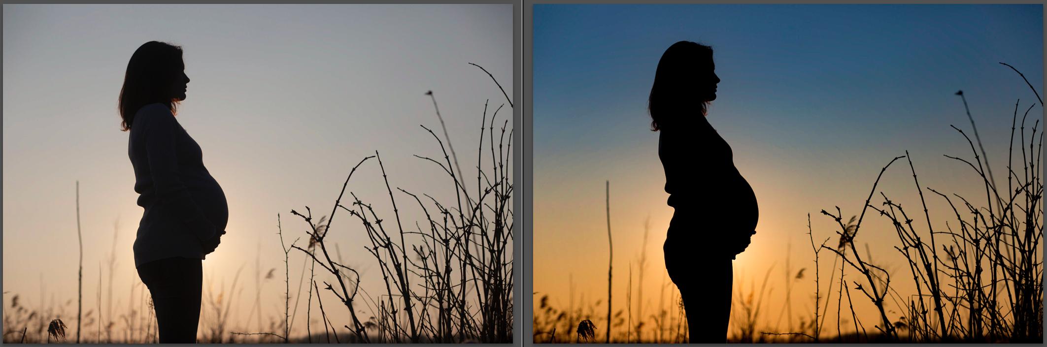 Hoe maak ik een silhouette foto lightroom